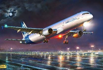 1-144 Airbus A321 Passenger Airliner Zvezda
