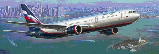 1-144 B767-300 Passenger Airliner Zvezda