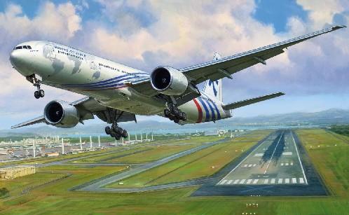 1-144 B777-300ER Passenger Airliner Zvezda