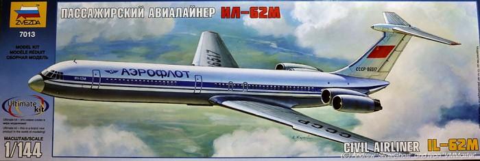 1-144 IL62M Passenger Airliner zvezda