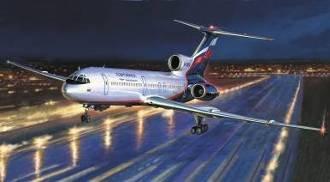 1-144 Russian Tu154M Medium Range Passenger Jet Zvezda