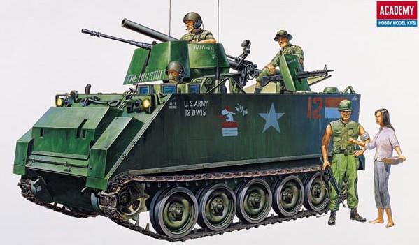 1-35 M113A1 APC Vietnam