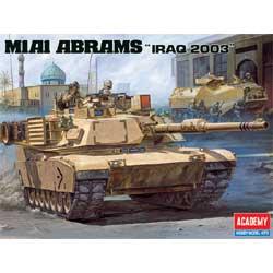 1-35 M1A1 Abrams US Army Tank Iraq 2003