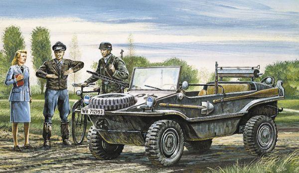 1-35 Schwimmwagen Military Vehicle 75