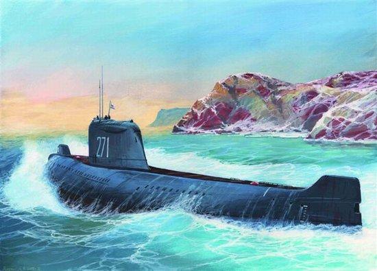 1-350 Soviet K19 Nuclear Submarine Hotel Class Zvezda