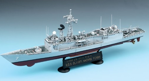 1-350 USS Oliver Hazard Perry FFG7 Guided Missile Frigate