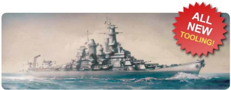 1-700 USS Missouri BB63 Mighty Mo Battleship