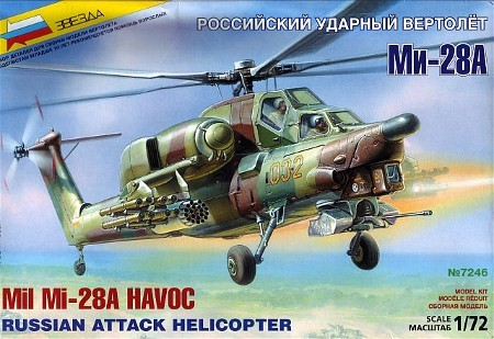 1-72 Russian Mi28A Havoc Attack Helicopter