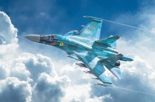 1-72 Sukhoi Su34-32FN Fighter 115