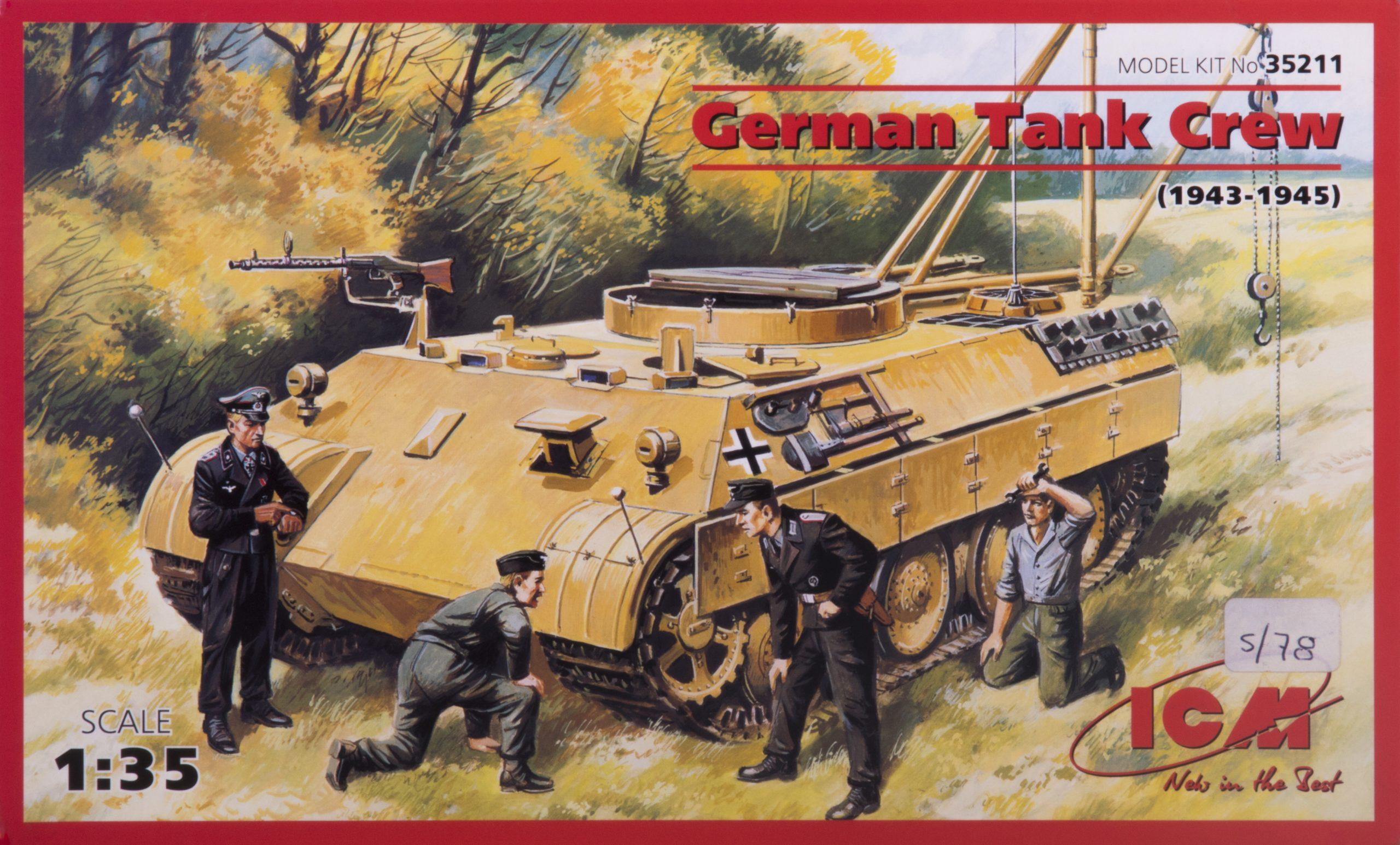 German Tank Crew 1-35