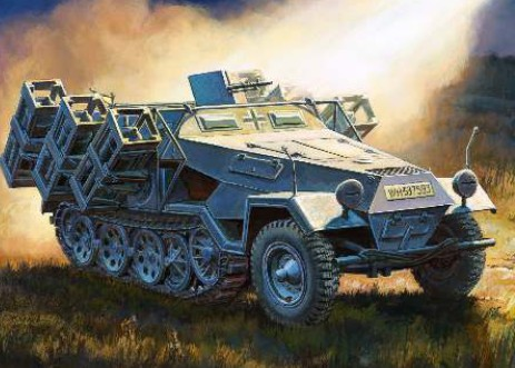 1-35 German Sdkfz 251-1 Ausf B Heavy Rocket Launcher