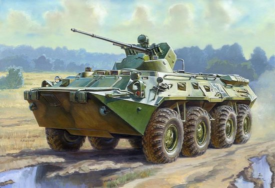 1-35 Russian BTR80A Armored Personnel Carrier