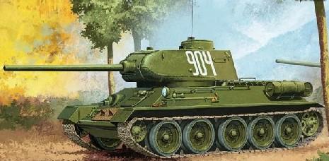 1-35 T34-85 No.112 Factory Production Tank