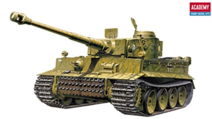 1-35 Tiger I Early Exterior Type Tank