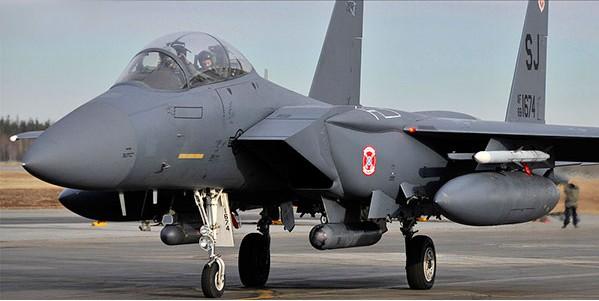 1:48 F15E Seymour Johnson USAF Fighter