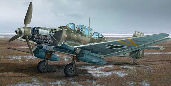1:48 Ju87G2 Stuka Kanonenvogel Bomber