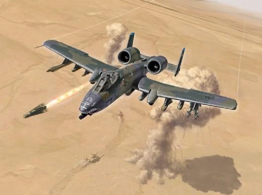 1:72 A10A:C Thunderbolt II USAAF Attacker Fighter 25th Anniv Gulf War