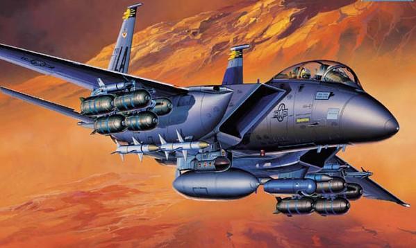 1:72 F15E Strike Eagle USAF Fighter