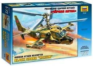 1:72 Russian Black Shark Hokum Attack Helicopter