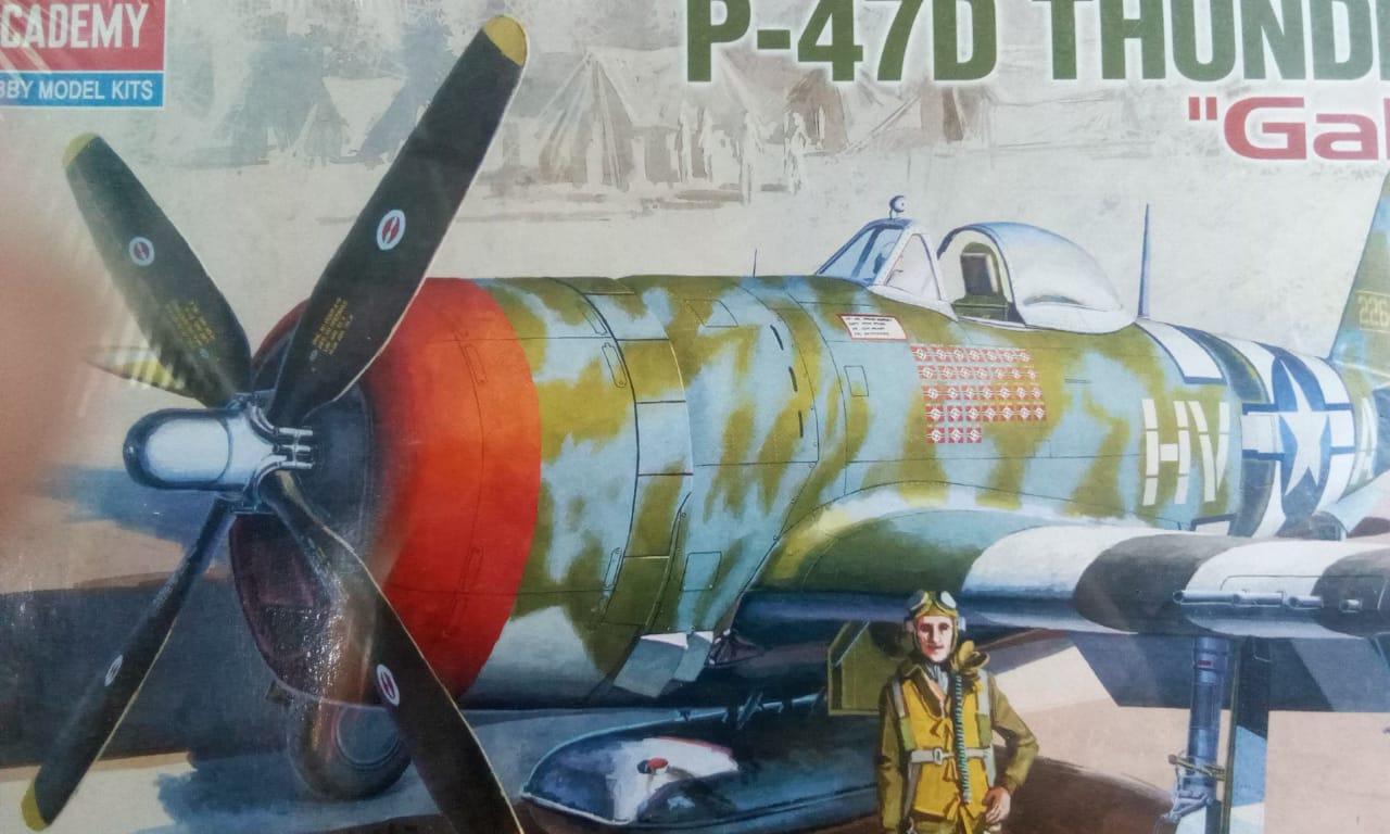 P-47D Thunder 1-48 Academy