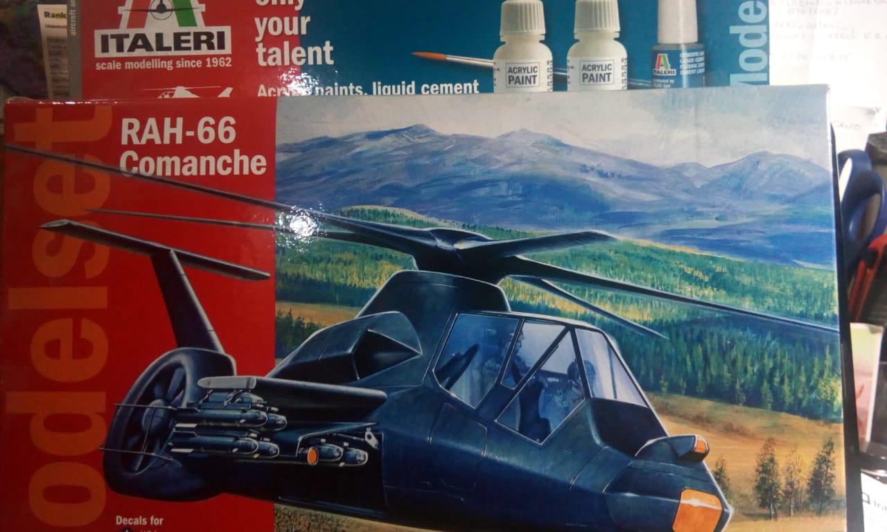 RAH-66 Comanche 1-72 Italery 71058