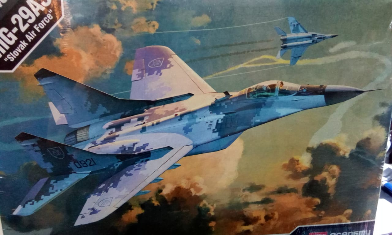 Mig-29 1-48 S-175.00. Marca academy,codigo 12227