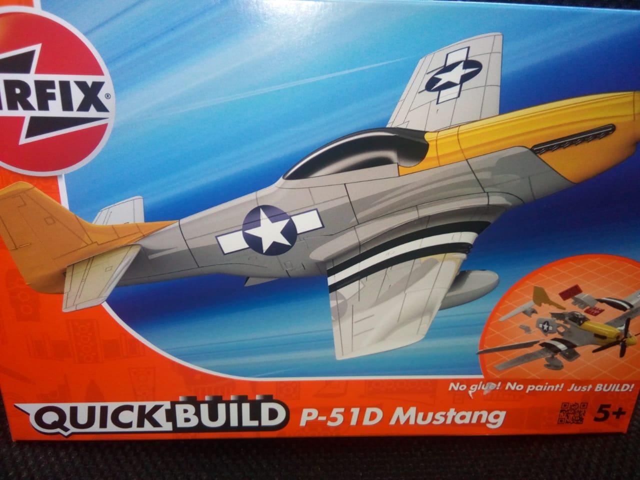 Quick buld P-51